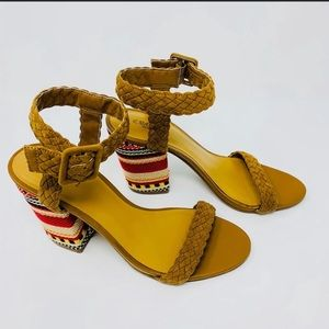 Crown Vintage block heel sandals